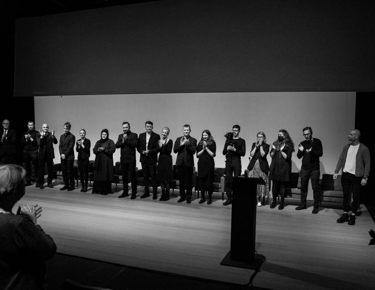 """""""Irano konferencijos"""" triumfas XI D. Tamulevičiūtės profesionalių teatrų festivalyje Varėnoje"""