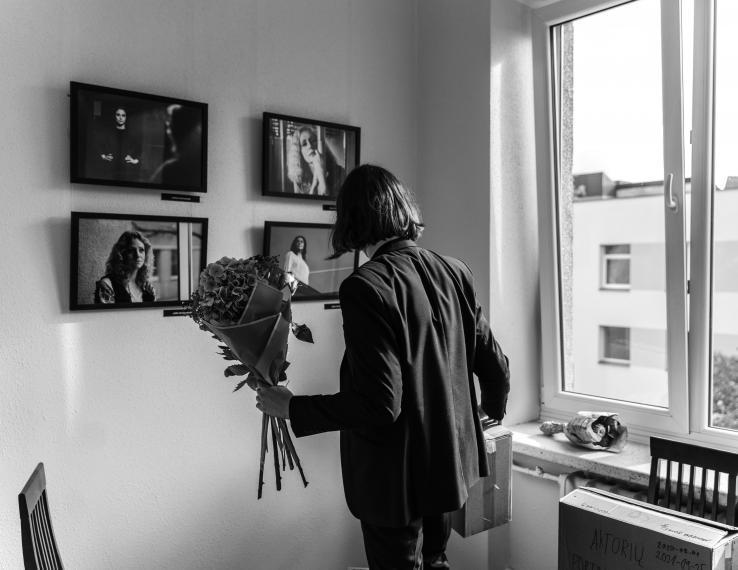 """Luko Varanausko fotografijų paroda """"Aktorių portretai"""""""