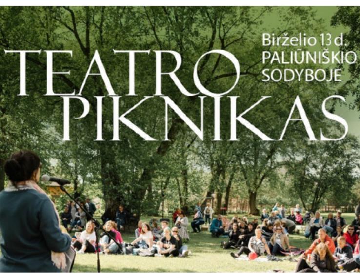 """Kviečiame į tradicija tampančią sezono uždarymo šventę – """"Teatro pikniką""""!"""